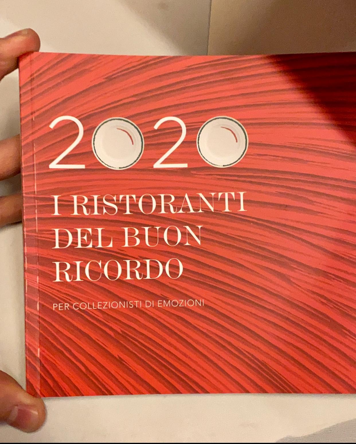 Guida 2020 i Ristoranti del Buon Ricordo